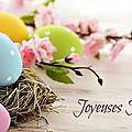Une belle et douce journée en ce Dimanche de Pâques 💟💟💟...