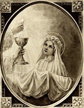 La première Communion de Sainte Thérèse