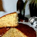Gâteau au miel et aux noisettes