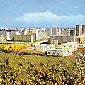 Dijon, quartier de la fontaine d'Ouche