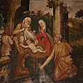 La Nativité, l'annonce au berger
