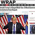 Donald trump : un entourage de mafieux et de pervers