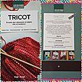 A vendre 'Livre Tricot - L'Atelier d'Hugo' état neuf