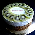 Cheesecake kiwi-citron