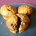 Mini muffins poire / chocolat