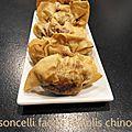 Casoncelli facon raviolis chinois