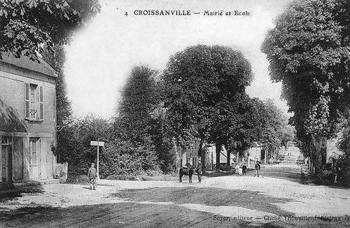 Croissanville - mairie et écoles