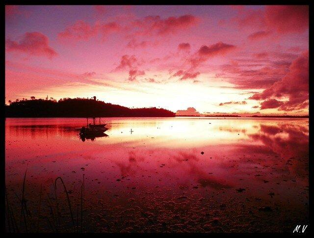 Sunrise on Anau