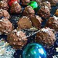 <b>Rochers</b> pralinés coco de Christophe Michalak