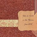 Fête de fin d'année 2012 à Ste Thérèse