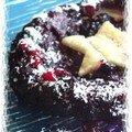 Mon deuxième kiki, le n°13 : tarte tatin banane - fruits rouges