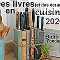 Des livres (et des écrans) en <b>cuisine</b> 2020