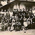 L'histoire de la soie, la filature de soie de trans