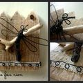 Mini wood Libellule