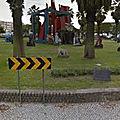 Rond-point à Setubal (<b>Portugal</b>)
