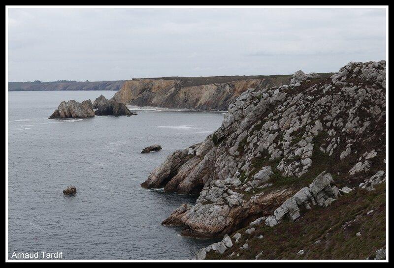 001036 Plomodiern - Presqu'Ile de Crozon - La Pointe du Gouin vue de la Pointe du Toulinguet blog 2