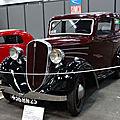 <b>SIMCA</b> FIAT 6CV berline 1936