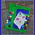 Tableaux écolos carton récup Floralies Sénas 27-10-2013 3