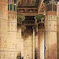 Egypte - Une croisière sur le Nil (5/19). Le <b>temple</b> <b>égyptien</b>, maison du Dieu.