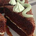 mini sandwich club pistache chocolat