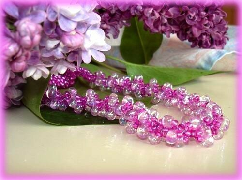 Spiral Rope Lilas