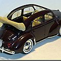 001 Renault 4cv décapotable Solido A 2