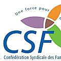 CSF une force pour mieux vivre