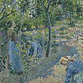 <b>Camille</b> <b>Pissarro</b> (1830-1903), La cueillette des pommes