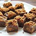 Fudge aux deux chocolats