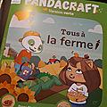 Pandacraft mai 2018 version verte: tous à la ferme