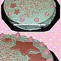 R.i.p mon beau gâteau d'anniversaire bleu
