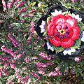 Cal frida's flower : étape 6 une rose en coeur