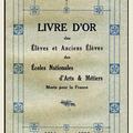 Livre d'or des élèves et anciens élèves des écoles nationales d'arts et métiers.