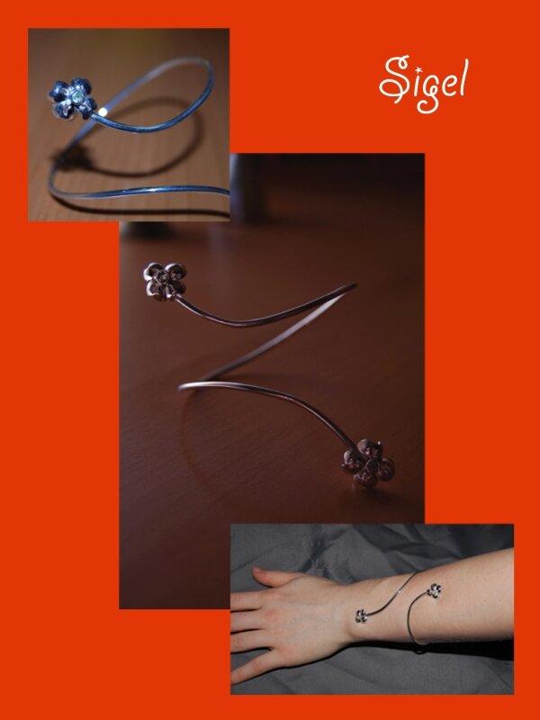 bracelet amour a 4 feuillesbis