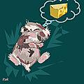 La liste de noël de la petite souris ...rêve de souriceau