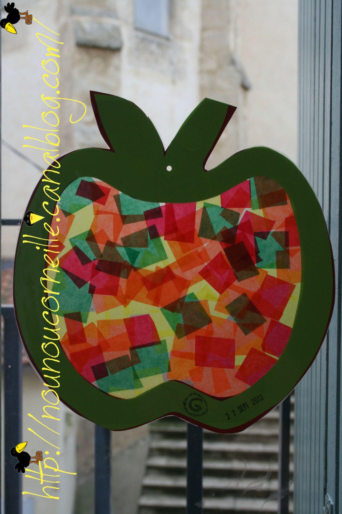 Pomme de Kélya vue de l'interieur
