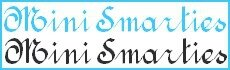 mini smarties