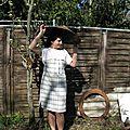 Une robe rétro pour Suze