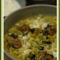 Aashe maste, une soupe iranienne