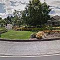 Rond-point à Wilsonville (Oregon)