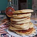 Classic pancakes de rose bakery