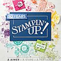 On stage stampin'up - avril 2018 - les cadeaux ! et...