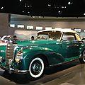 MERCEDES BENZ 300S cabriolet A 1954 Stuttgart (1)