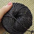 Petit pull noir & charbon