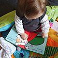 Ma sélection de livres de noël pour ma petite (8 mois)