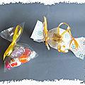 Créations en école : les boites à bonbons