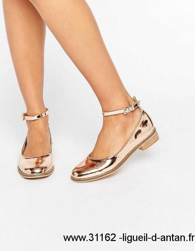 Printemps-ete-2018-Asos-Asos-Minted-Chaussures-Plates-Nudemetallise-Femme-Chaussures-Taille-41-EU-38-38-45-41