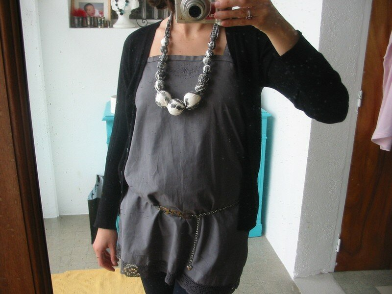 collier tissu 012