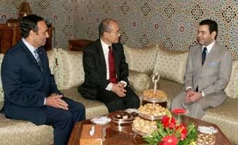 His Royal Highness Prince Moulay Rachid and United Nations Educational, Scientific and Cultural Organization (hereafter UNESCO) Director General Koichiro Matsuura, Rabat, Nov. 30, 2006