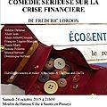 Rendez-vous Samedi 24 Octobre au Moulin de Hausse Côte !